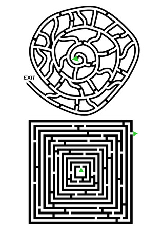 distraction: Abstract maze