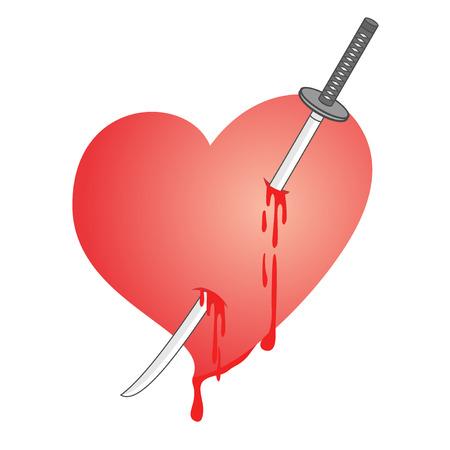 affliction: Kill love Illustration
