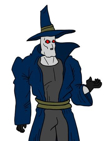 mystery man: Mystery man design Illustration