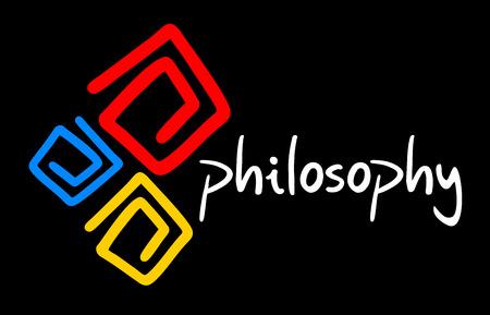 Philosophy symbol 向量圖像