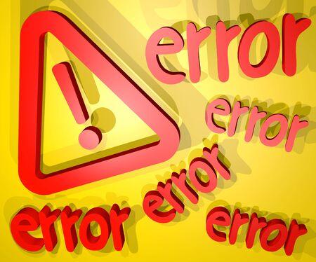 advise: Error advise symbol