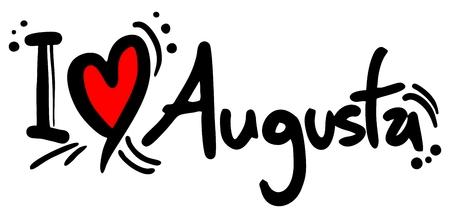 augusta: Augusta amor Vectores