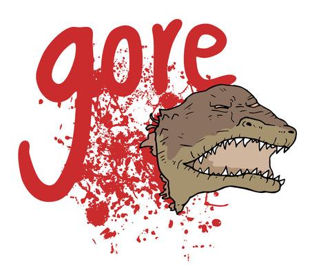 gore: Gore blood message