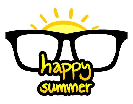 happy summer: Happy summer message