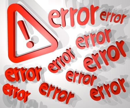 error message: Big error message