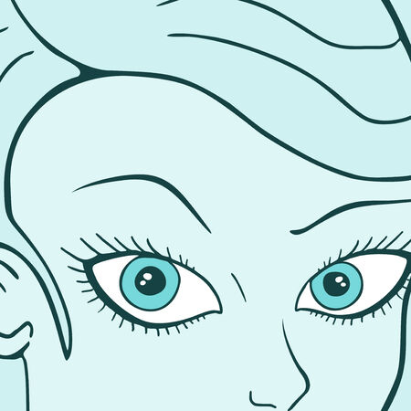Prety eyes Vector