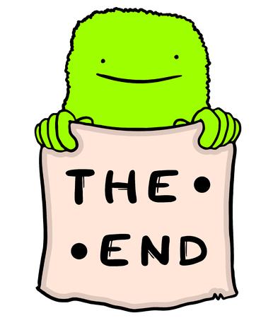 edicto: El mensaje final Vectores