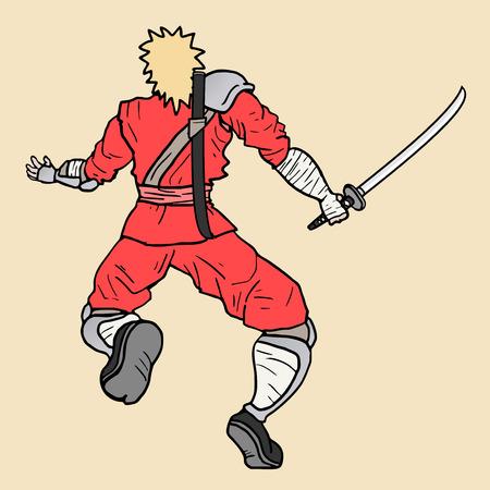 avenger: Ninja attack Illustration