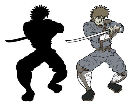 avenger: Shadow samurai  Illustration