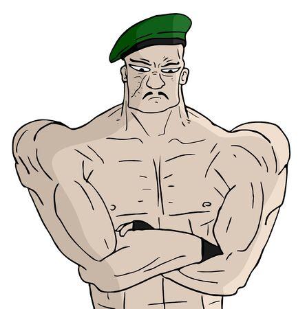 colonel: Stron soldier