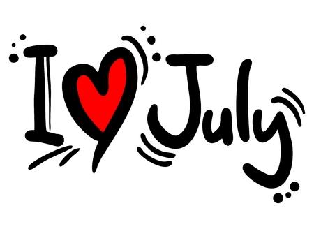 I love July