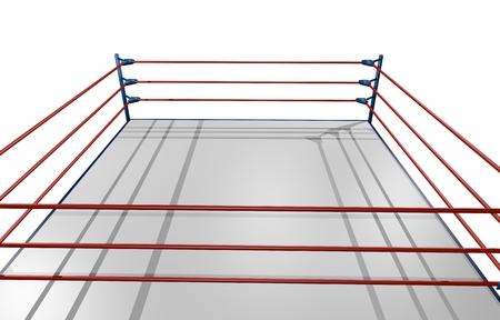boxing ring: Wrestling render ring