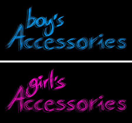 fashion boy: Fashion boy and girl accessories
