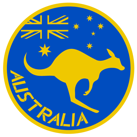 Australia symbol Illustration