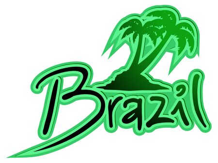 brazil beach: Brazil beach icon