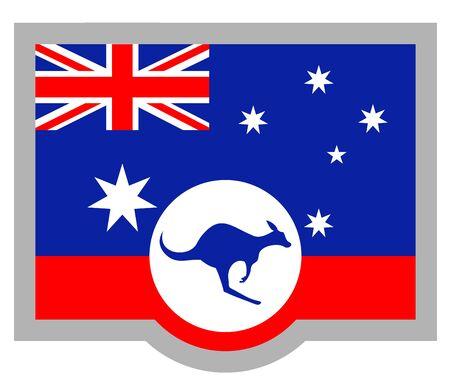 commonwealth: Australia flag