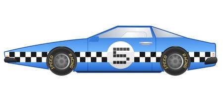 racecar: Racing rally car