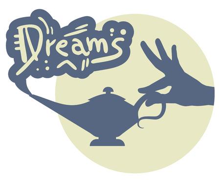 Dreams icon Vector