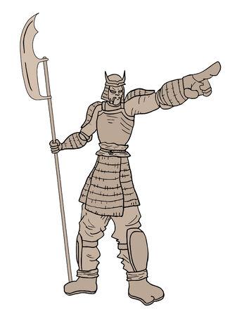 edinburgh: Zeigt Samurai-R�stung