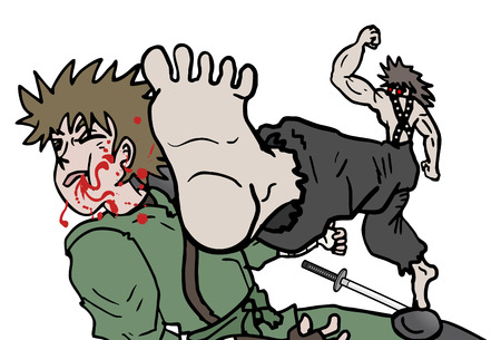 murder scene: Lucha vector empate