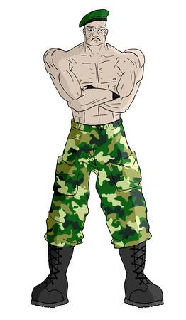 Soldier draw