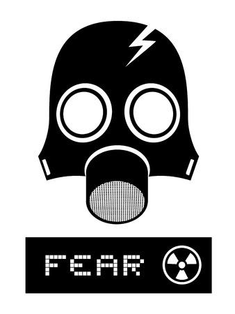 environmental suit: Fear symbol