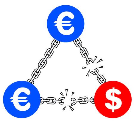 tearing down: Crisis dollar