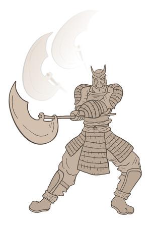 fearsome: Samurai attack