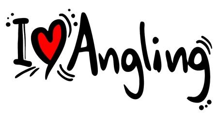wanting: Angling love Illustration