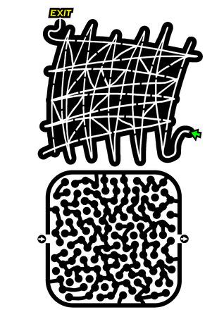 Creative mazes