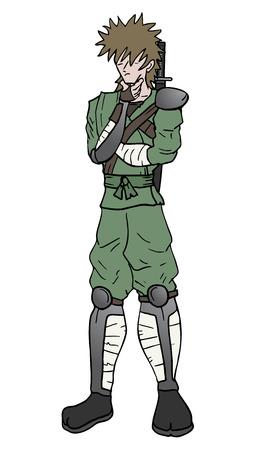 avenger: Think ninja Illustration