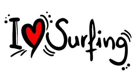 risky love: Surfing love