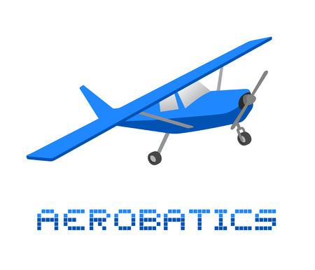 supersonic: Aerobatics plane draw
