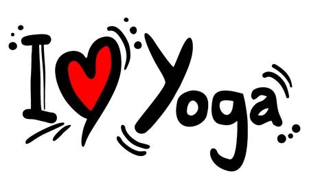 position d amour: J'adore message de Yoga