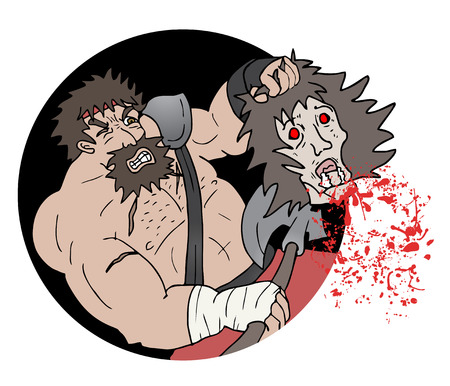 killing: Icon dead Illustration