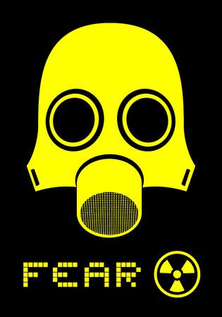 Fear mask Vector