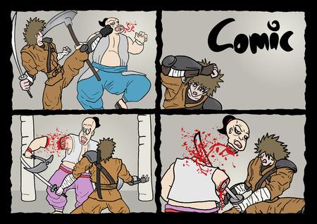 cavalier: Page comic