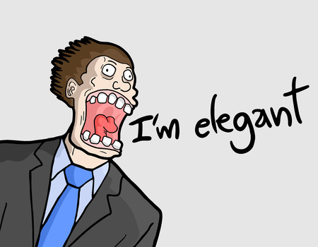blab: Uomo elegante