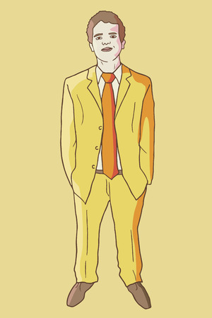 tailored: YEllow man