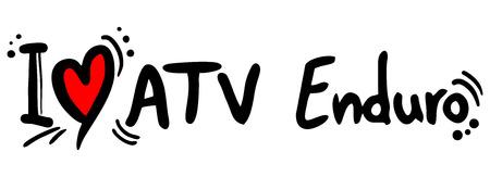 atv: ATV enduro love