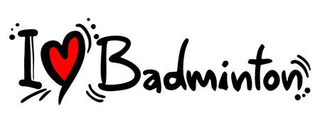dedicate: Badminton love