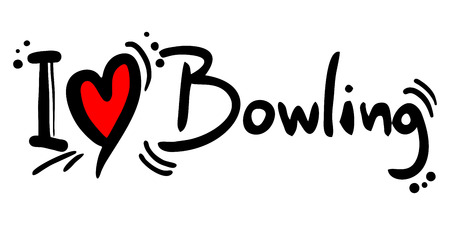 bowling pin: Bowling love