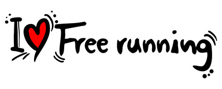 risky love: Free running love