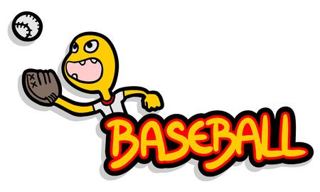 BAseball banner Vector