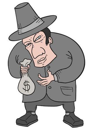 Bank man Vector