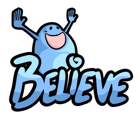 believe: Believe puppet