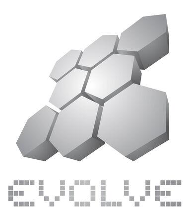 evolve: Evolve cover Illustration