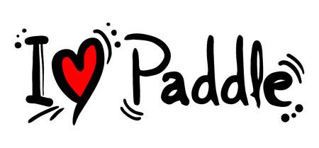 Love paddle