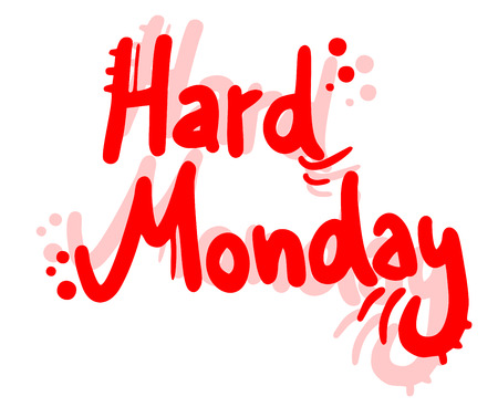 Hard Monday symbol Vector