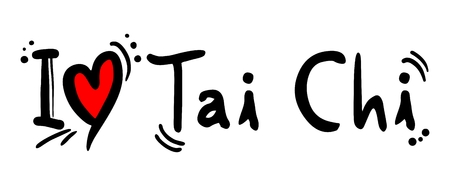 tai chi: Tai Chi love Illustration
